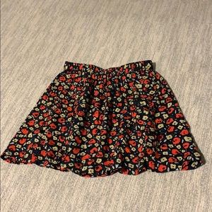 Urban Outfitters Banding Mini Skirt